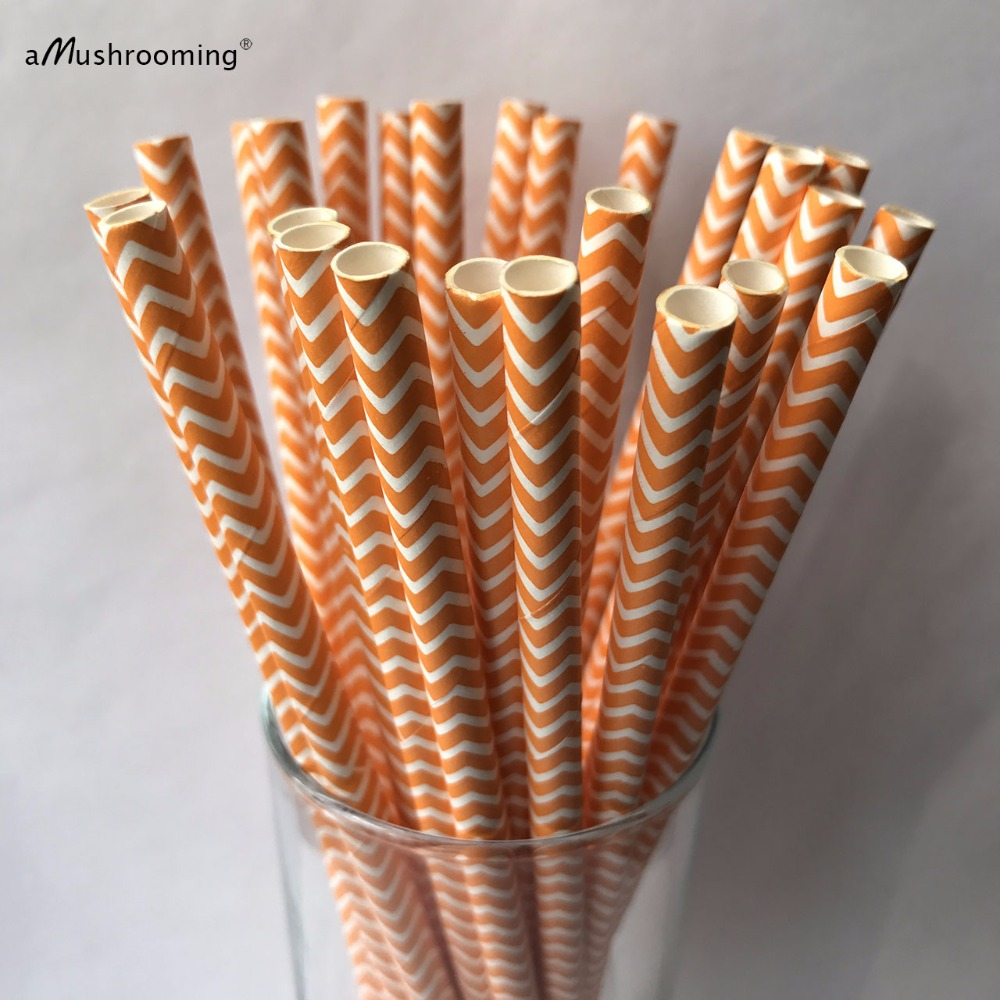 Popular Paper Straw Orange-Buy Cheap Paper Straw Orange lots from ...