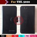 ThL 5000 Caso, Estojo De Couro Ultra-fino Telefone Coldre Para ThL 5000 Telefone Botão Magnético Minimalista Capa Protetora frete Grátis