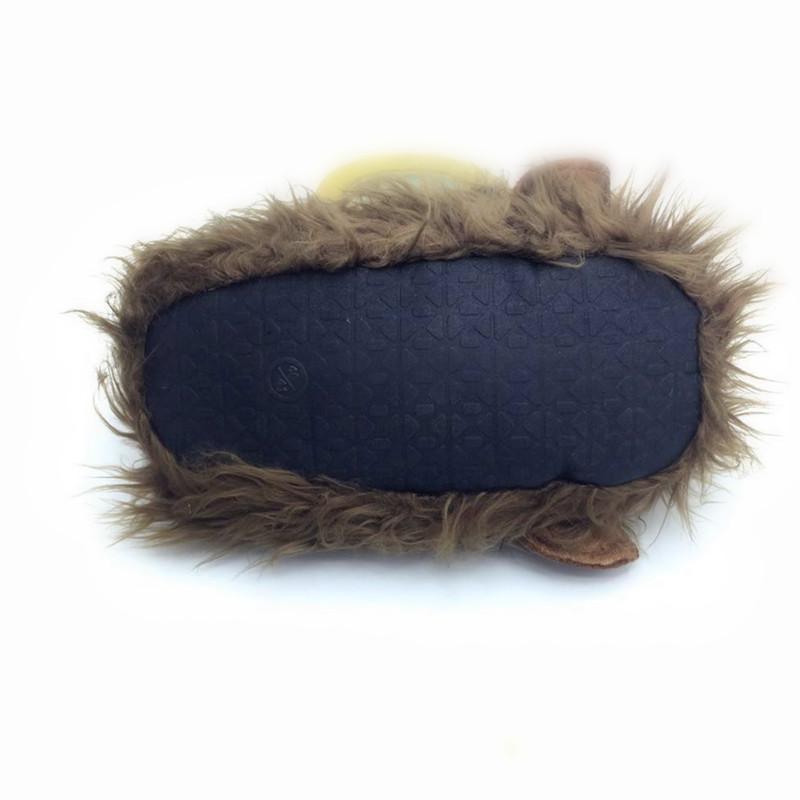 AoXunLong noi de iarna cald bărbați Papuci Lovely Monkey Plush Home - Pantofi bărbați - Fotografie 6