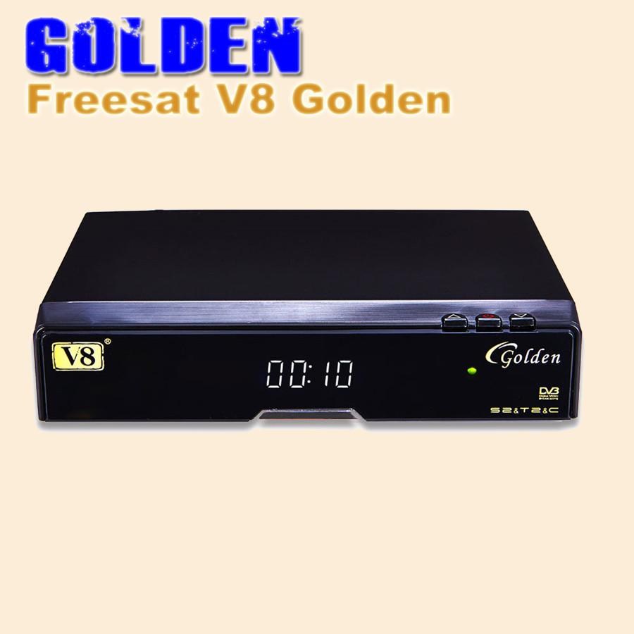 1pc Freesat V8 Golden Dvb S2 T2 C Satellite Tv Combo Board Gt Led Circuit Boardtv Support Hdmiusb Receiver Powervu Biss Key Cccamd Newcamd
