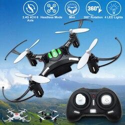 Eachine H8 Mini Kopflose RC Hubschrauber Modus 2,4G 4CH 6 Achse RC Quadcopter RTF Fernbedienung Spielzeug Für Kind präsentieren VS JJRC H36