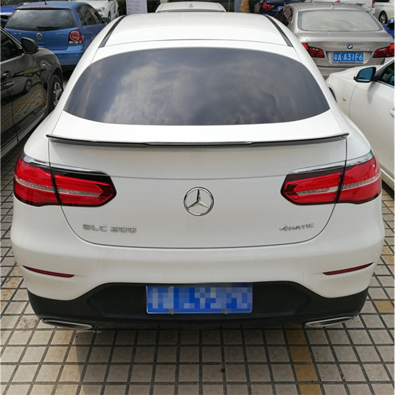 Spoiler For Mercedes-Benz GLC Coupe GLC200 GLC300 GLC260 2016.2017.2018 High Quality ABS Rear Wing Spoilers Auto Accessories