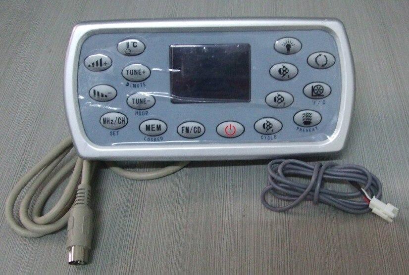Pour JNJ, Monalisa, jazzi, mesda, sunrans et Deluxe spa Panneau De Contrôle et clavier panneau de DHR-A-8001 HLW15B