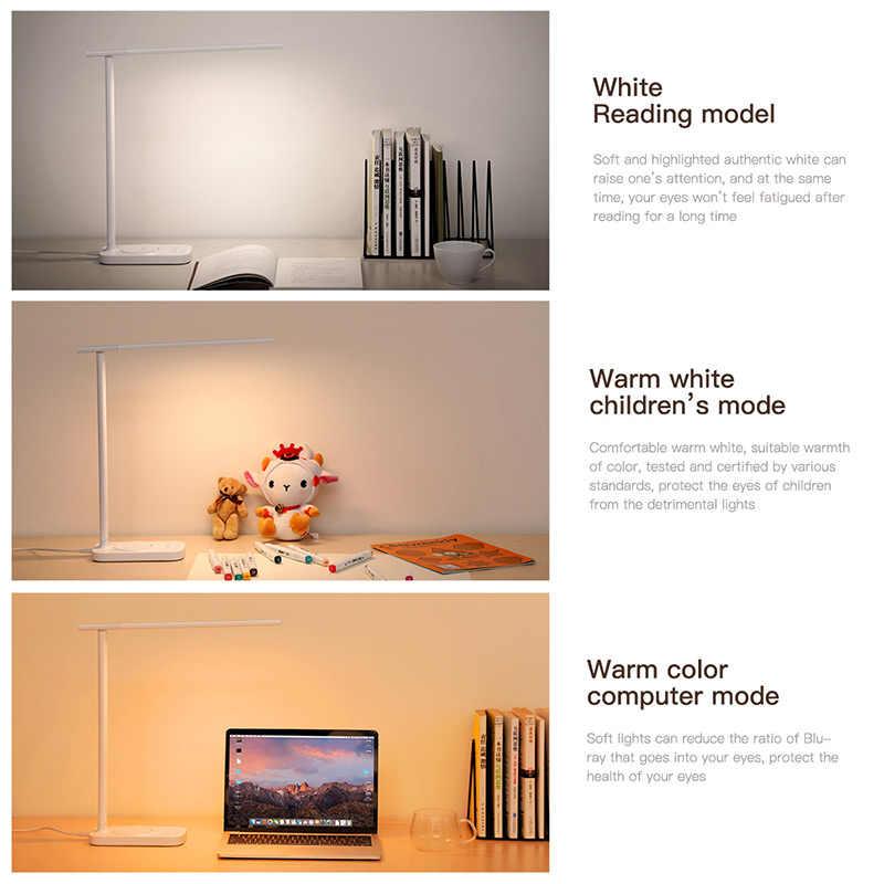 Baseus светодиодный настольный светильник Qi Беспроводное зарядное устройство для iPhone Xs samsung складной настольный светильник 10 Вт быстрая Беспроводная зарядка Настольная лампа