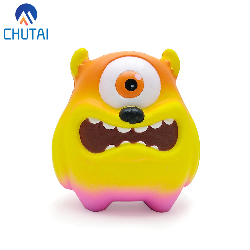 Jumbo Big Eye Adorable Monster Squishies Scented Soft Squishy Slow Rising Squeeze Toys For Adult Children Gift 11*8*10CM