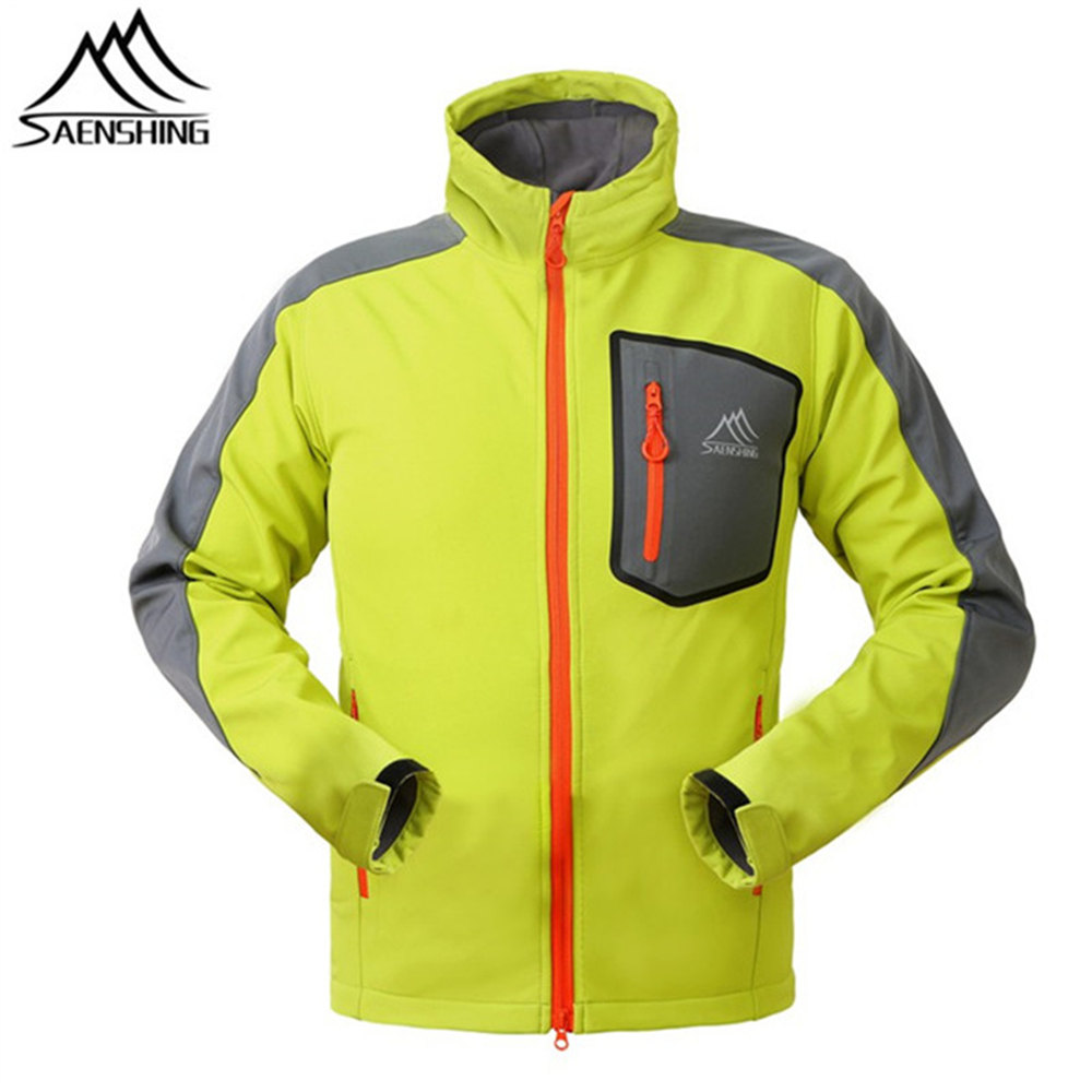SAENSHING Outdoor Softshell Jacket Men Hunting Clothes Windproof Jacket Chaquetas Camping Hiking Climbing Sport Jackets S-3XL men s knitted jacket