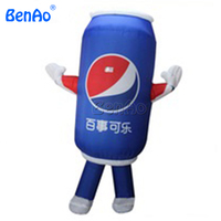 AC141 Free Shipping Low Price Inflatable Model Giant Balloon Inflatable Coca Bottle For Advertisement Inflatable Moving