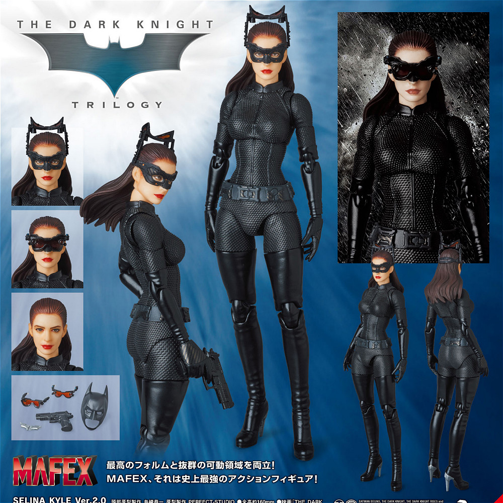 1:6 Scale KUMIK Catwoman Selina Kyle In Batman Returns Collectible Body Doll