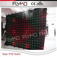 live show equipment for sale 3x4m P18cm dj booth table video dj led curtain stage wedding