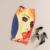 Europa América Las Mujeres Retro Faldas 2016 Chica de Dibujos Animados de Impresión Faldas Lápiz Abrigo Casual Volver Dividir Cintura Alta Bodycon Midi Faldas