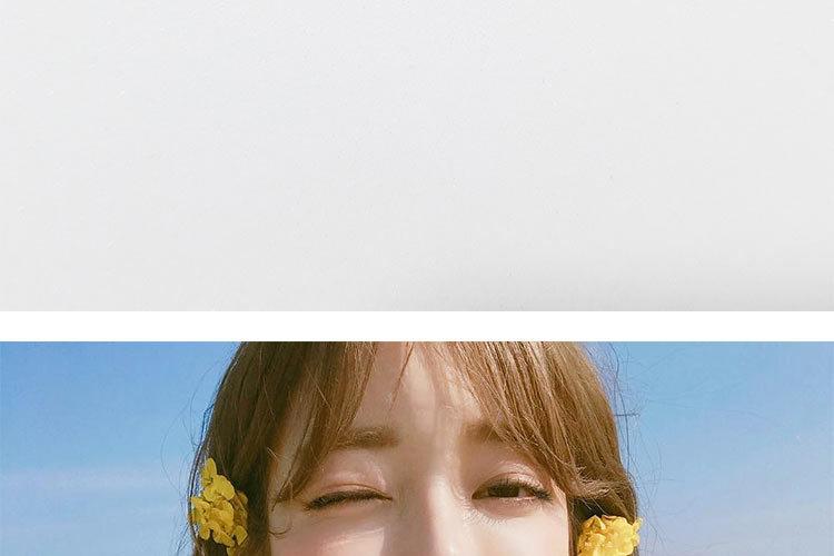 Small Circle Flower Earrings jewellery