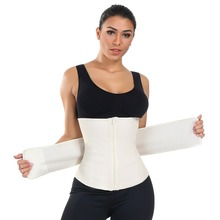 Plus size women  perfect shaper tummy waist trainer body slimming shapewear corset sexy for post partum B4925