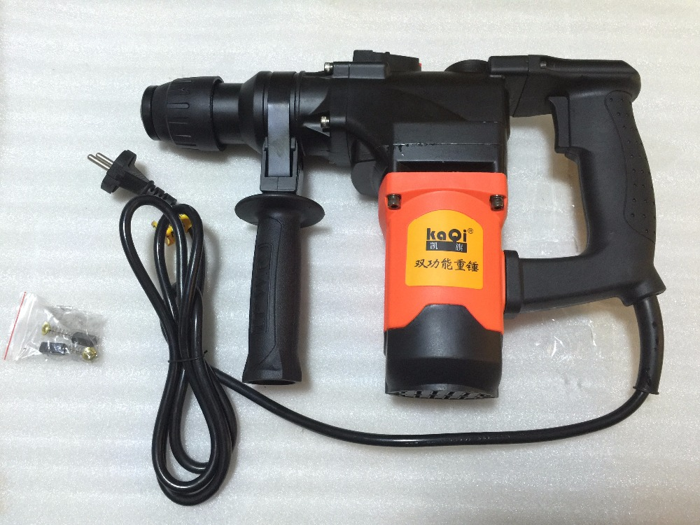 industrial grade electric demolition hammer  drill SDS Plus or Max with 11 pieces drill bits 10.8J  1080w 850rpm  220v