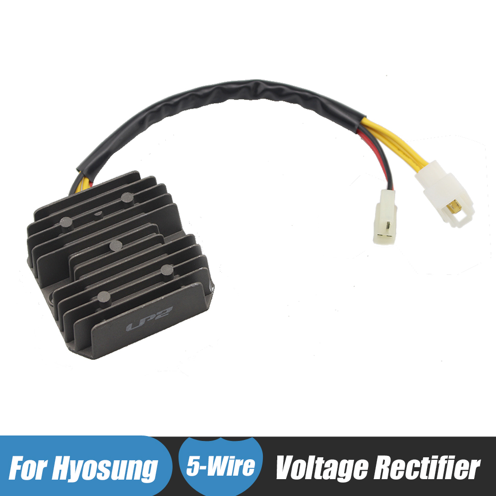 Motorcycle Regulator Rectifier For Hyosung GT250 GT650 COMET GT250R GT650R GT650S ST7 680 GV250 AQUILA GD250N MS3-250 ST7L EFI black voltage regulator rectifier for hyosung gt650r gt650 comet gv650 gt650s st7 gt 250r gt250 gv 700