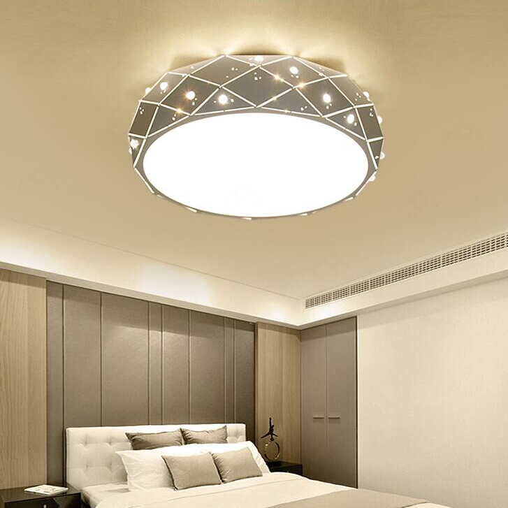 Diamond Ceiling Lights For  Modern Living Room/study/Bedroom luminaria teto cristal Crystal LED Ceiling Lamp Home Decoration surface mounted mediterranean glass led ceiling lights for living room and bedroom luminaria teto fashion ceiling lamp for home