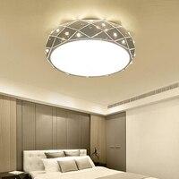 Diamond Ceiling Lights For Modern Living Room/study/Bedroom luminaria teto cristal Crystal LED Ceiling Lamp Home Decoration