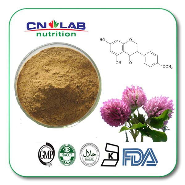 Supplement Nutrition Pharmaceutic Ingredient Red Clover Extract 50g best quality supplement deer antler velvet extract 500g