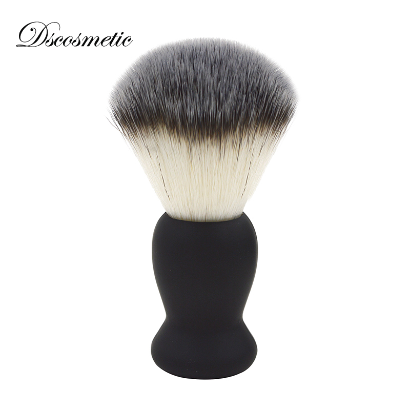 Dscosmetic Synthetic hair from rubber handle china shaving brush hot sale hight quality traditional shaving needham science in traditional china pr only
