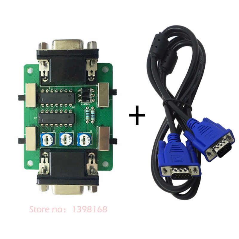 SCANLINE GENERATOR + 4PCS L Type feet and screw/ mame - arcade game -  EMULATOR FOR ALL RETRO GAMES AND GAMERS