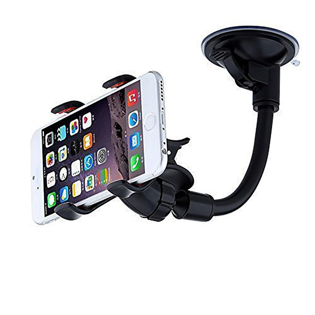 Mobile Car Phone Holder Stand Adjustable Support 6.0 inch 360 Rotate For Iphone 6 Plus/5s Samsung galaxy note 7 S6 s7 edge