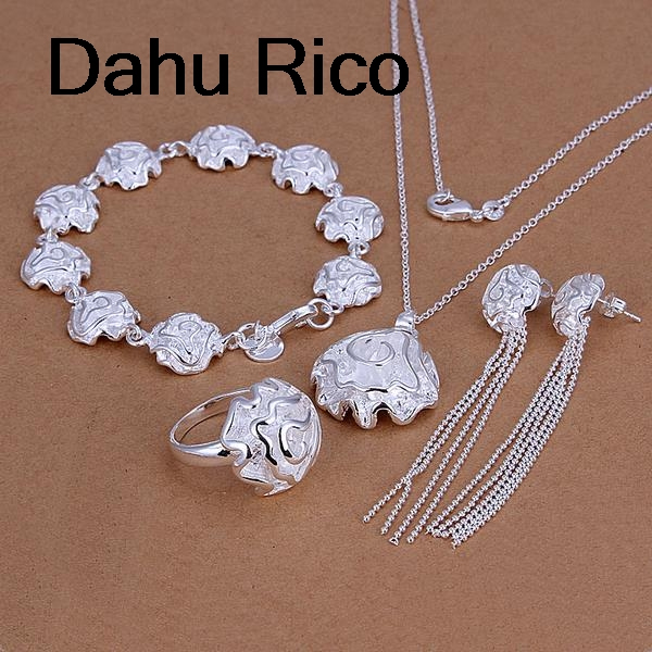 rose taki seti komplet mom set cosplay egyptian hediye joias spiritual Dahu Rico jewelry sets silver color ...