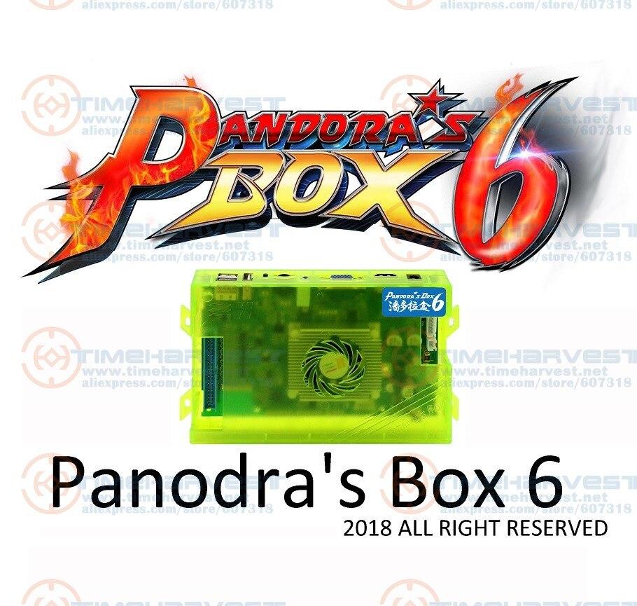 Nuovo Arrivo originale Pandora Box 6 Home Edition 1300 in 1 Giochi di scheda di Famiglia Versione per Gioco di Arcade Joystick Marchine armadio