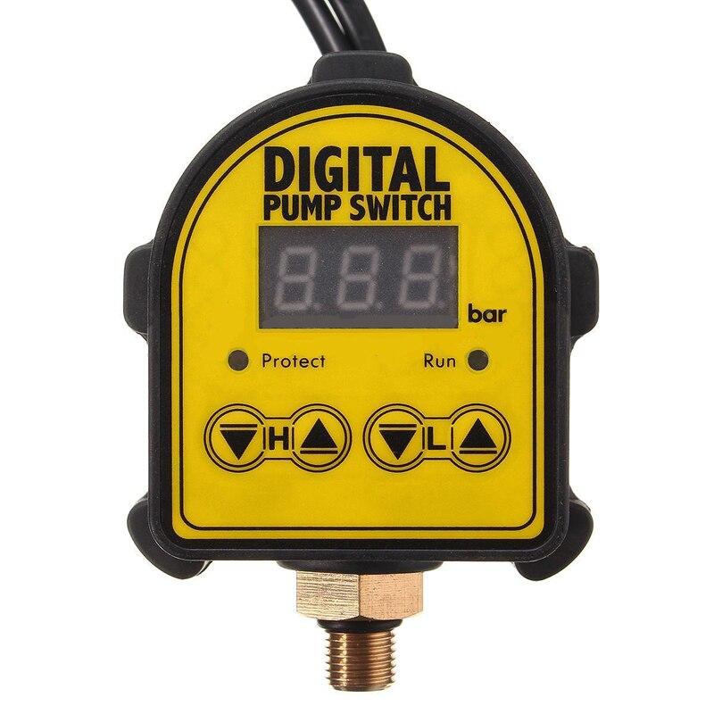 Digital Automático de aire bomba de agua compresor de aceite interruptor de presión para la bomba de agua