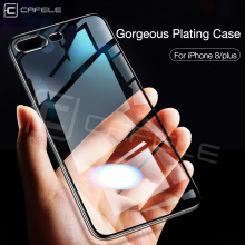 Cafele Silicone Phone Case for iPhone 7 8 Plus Luxury Clear Original Soft TPU