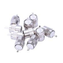цена на 10pcs Connector UHF male PL259 plug solder RG8 RG213 LMR400 7D-FB cable silver