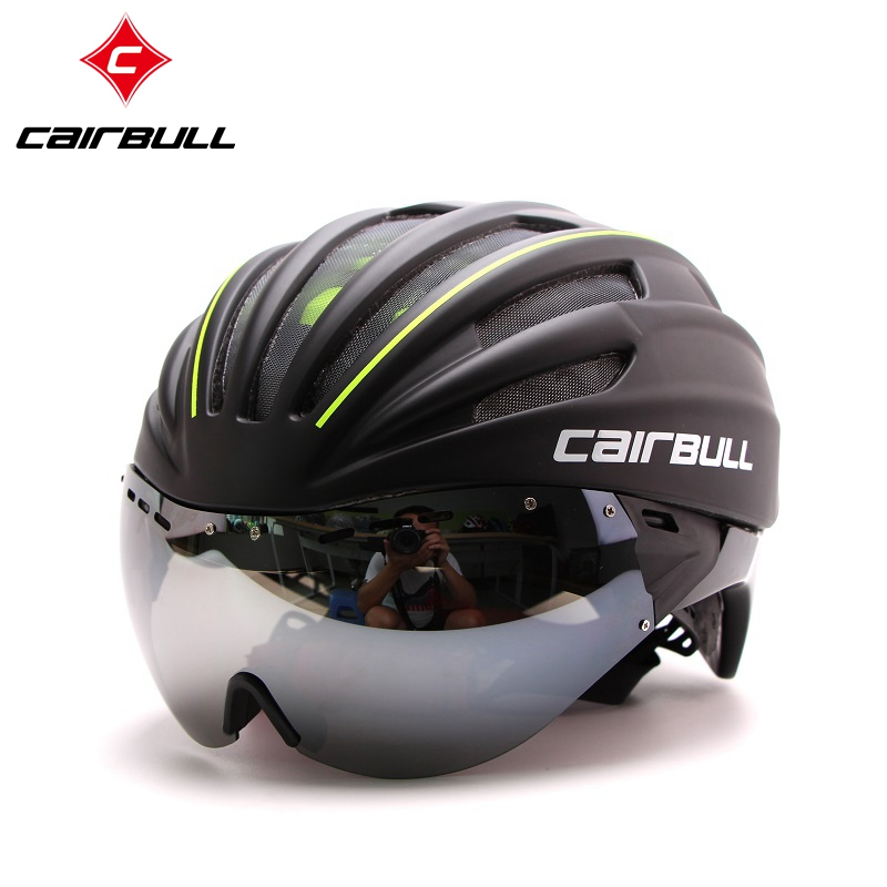 CAIRBULL 2017 Latest EPS TT Bike Bicycle Helmet, Short-tail Time Trial Bicycle Helmet, TT Aero Track Cycling Helmet Casco Ciclis universal bike bicycle motorcycle helmet mount accessories