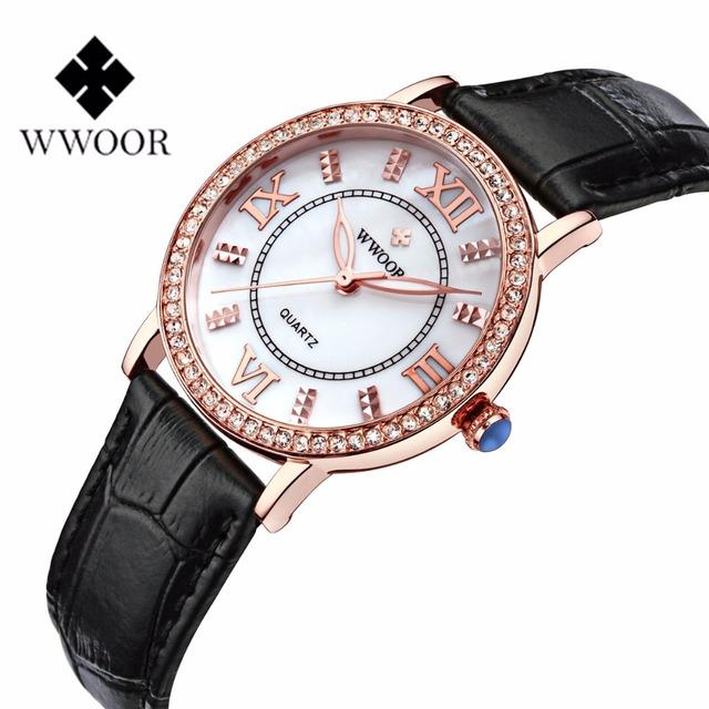 WWOOR  Fashion Jelly Silicone Women Watches Luxury Brand Casual Ladies Quartz Clock Wristwatches Clock Montre Femme