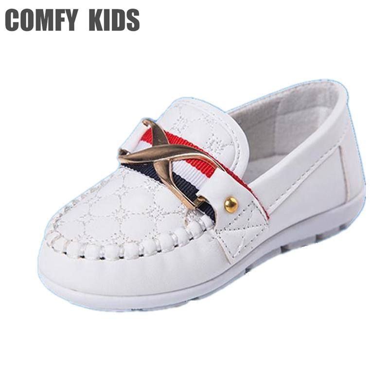 Comfy kids sping autumn child shoes leather soft bottom boys baby shoes for boys children leather flat shoe fashion causal shoe