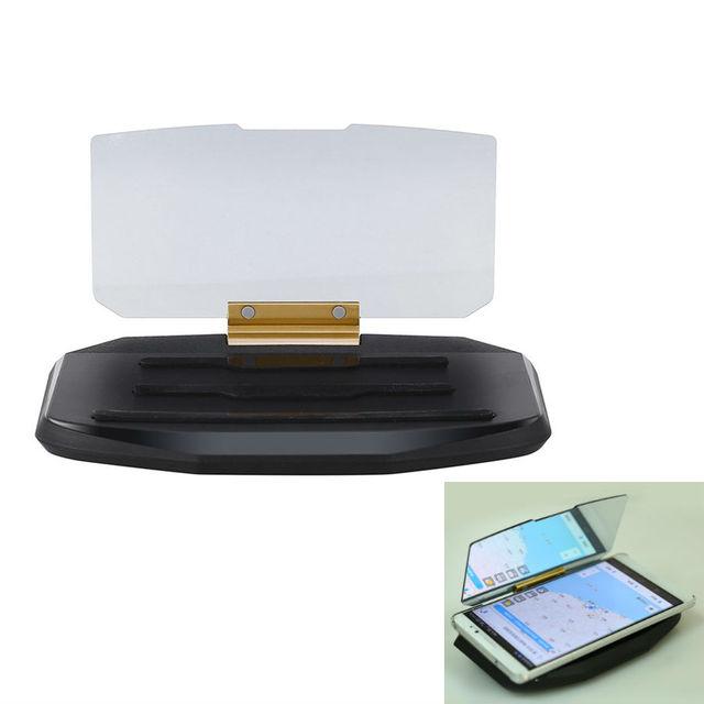 Teléfono GPS de Navegación HUD Head Up Display Soporte Universal Proyector De Montaje Del Coche Del Sostenedor Del Teléfono Móvil