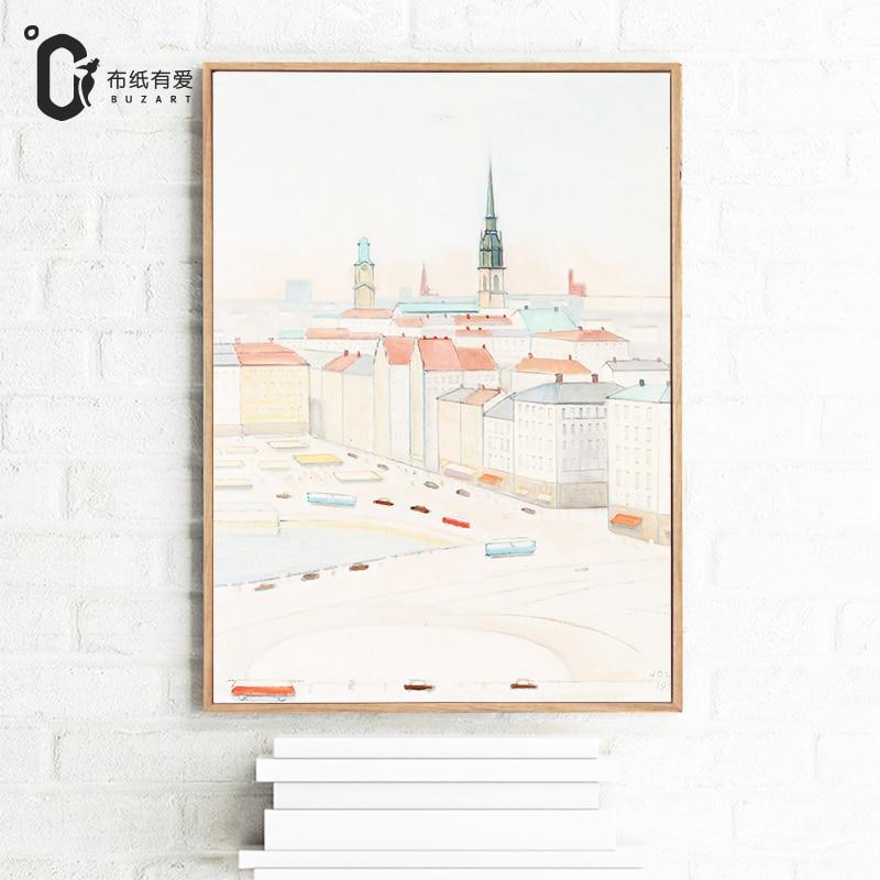 İsveçdəki həyat İmpressionist Ev dekorasiya üzüm Yaşayış - Ev dekoru - Fotoqrafiya 4