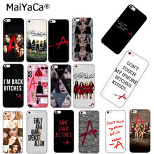 MaiYaCa Pretty Little Liars PLL TV Show Luxury Hybrid สำหรับ iPhone 8 7 6 6 วินาที Plus X XS MAX XR 10 5 วินาที 5 วินาที SE Coque(China)