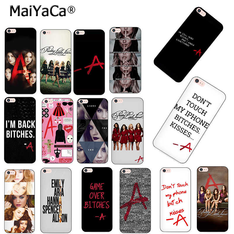 MaiYaCa Pretty Little Liars PLL TV Show phone case for iPhone 8 12pro 6 6S Plus X XS MAX XR 10 5S 5S SE 11pro max case Coque