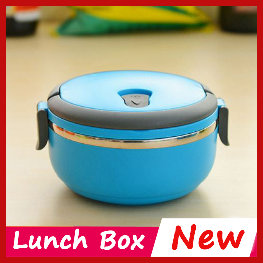 Hot Retail Wholesale 3 colour Bento Lunch Box For Kids Lunchbox