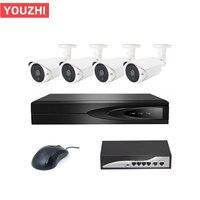 Good Night vision 3mp poe switch nvr cctv system 3 maga pixel camera cctv kit