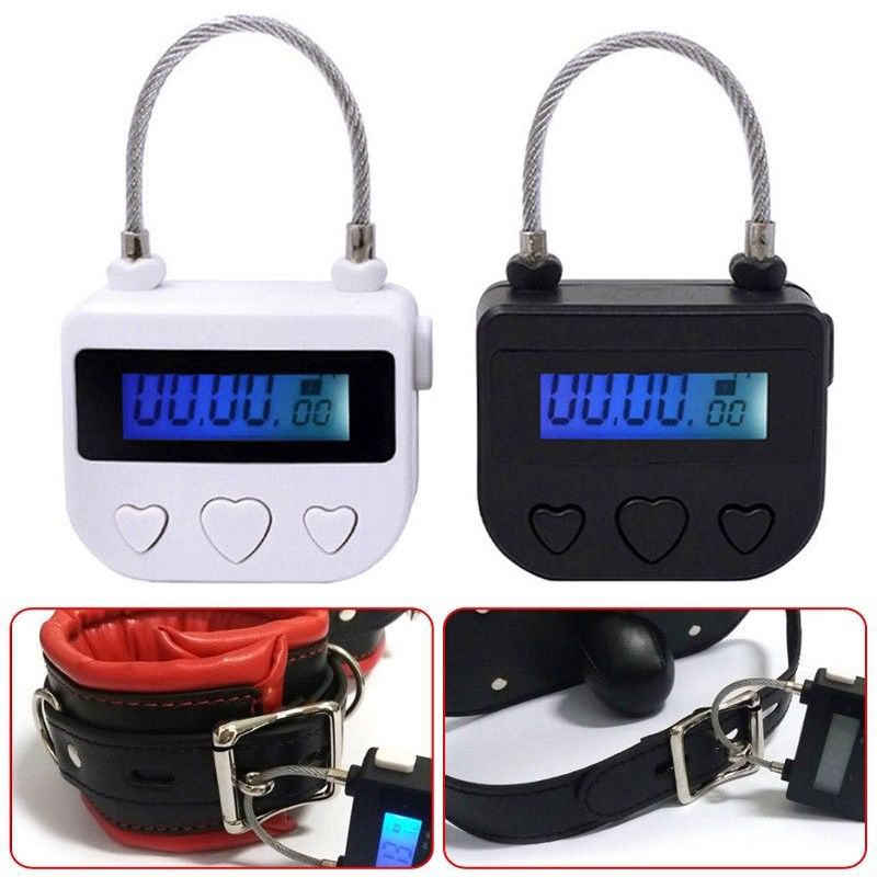 Women Men Multipurpose USB Time-Lock Electronic Timer Tool For Ankle Handcuffs Mouth Gag SN-Hot