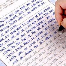 3 шт. письмо английская каллиграфия копировальная книга для взрослых детей упражнения занятия каллиграфией книга libros копировальная книга для детей