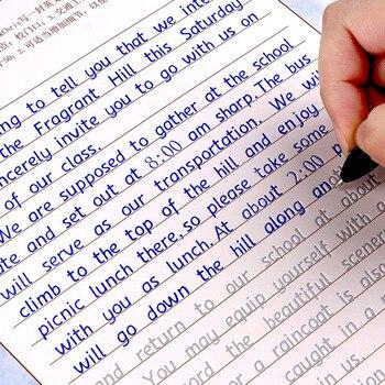 3 قطعة الكتابة الإنجليزية الخط الدفتر ل الكبار الأطفال تمارين الخط ممارسة كتاب Libros الدفتر للأطفال