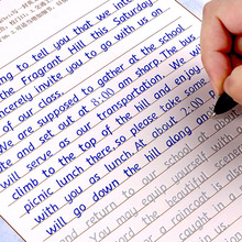 3pcs כתיבה אנגלית מחברת קליגרפיה למבוגרים ילדי תרגילי עיסוק קליגרפיה ספר libros מחברת לילדים