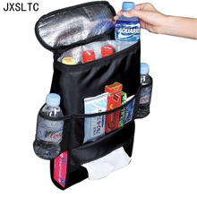 2017New Car Back Seat Boot Organizer Trash Holder Multi Pocket Travel Nappy Breast Milk Storage Bags