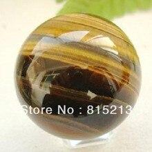 Ddh0011 Natürliche Tigers Eye Ball Steinkugel 40mm