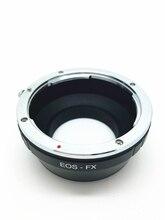 Para EOS-FX Para Canon EOS EF EF-S Montagem de Lente Para FX para XT2 XA3 XT10 XT20 XE2 Fujifilm X-Pro1 Anel Adaptador de Câmera SLR DSLR