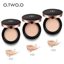 O.TWO.O – Poudre minérale longue tenue éclaircissante et blanchissante, maquillage pour le visage, cosmétique pour contouring, pressée, marque professionnelle,