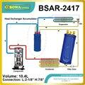 Аккумулятор линии всасывания теплообменника был разработан для использования на низкотемпературной системе для суб охлаждающей линии жид...