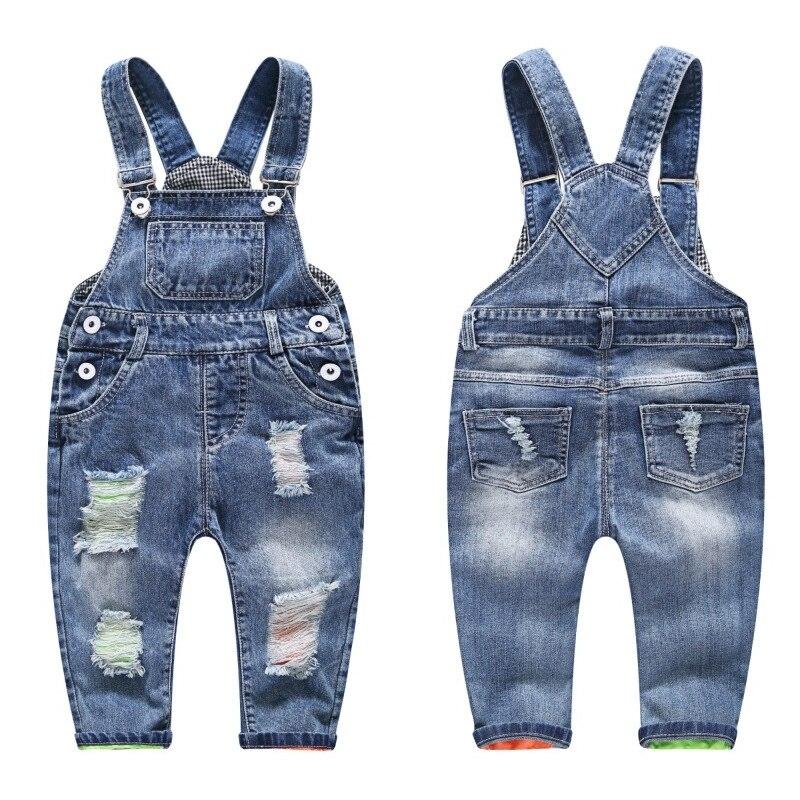 HTB1nyOuhhjaK1RjSZKzq6xVwXXaE - 3-8T kid jeans children jeans boys pants denim trousers Korean children jeans overalls bib pants jeans for boys kids boy clothes