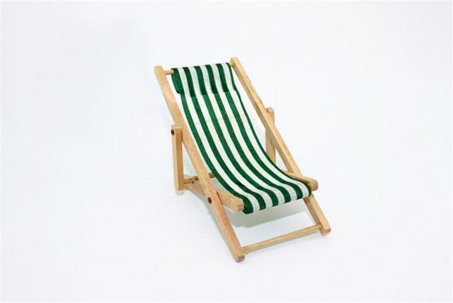 112 chelle pliable en bois transat salon chaise de plage pour belle miniature pour - Transat En Bois