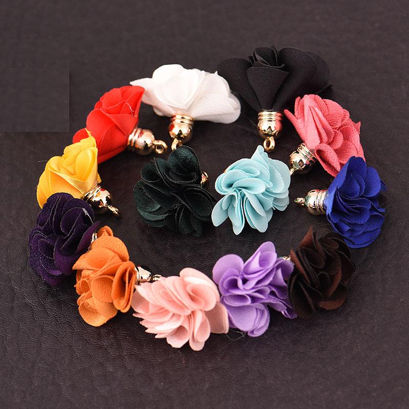 10pcs/lot 3cm Mini flower Tassels Small Tassels FLOWER  jewelry making Supplies EARRING bracelet necklace Findings&Components10pcs/lot 3cm Mini flower Tassels Small Tassels FLOWER  jewelry making Supplies EARRING bracelet necklace Findings&Components